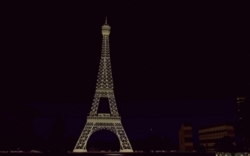 The Eiffel Tower, Paris (France), an illustration for the tale The Great Locations in the World as Seen in FS!