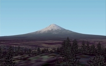Mount Fuji, Japan, an illustration for the tale The Great Locations in the World as Seen in FS!