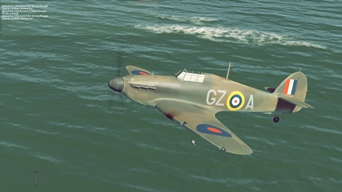 Archive Picture of the Day: Tweaking With IL-2 Cliffs of Dover. Fine Pictures at Least!