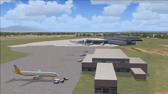 Archive Picture of the Day: Check our New Scenery! The New Terminal to Algier's Houari Boumediene airport (DAAG)!