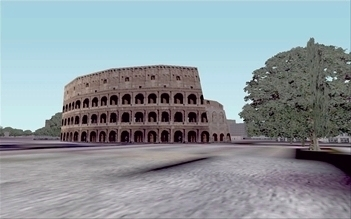 The Colosseum, Rome (Italy), an illustration for the tale The Great Locations in the World as Seen in FS!