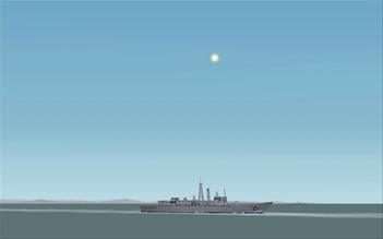 The U.S. Fleet of the Pacific, an illustration for the tale The Great Locations in the World as Seen in FS!